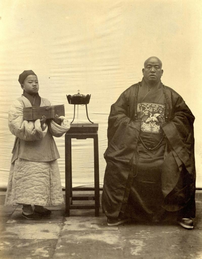 Thomas Child, No. 191'Buddhist Priest'