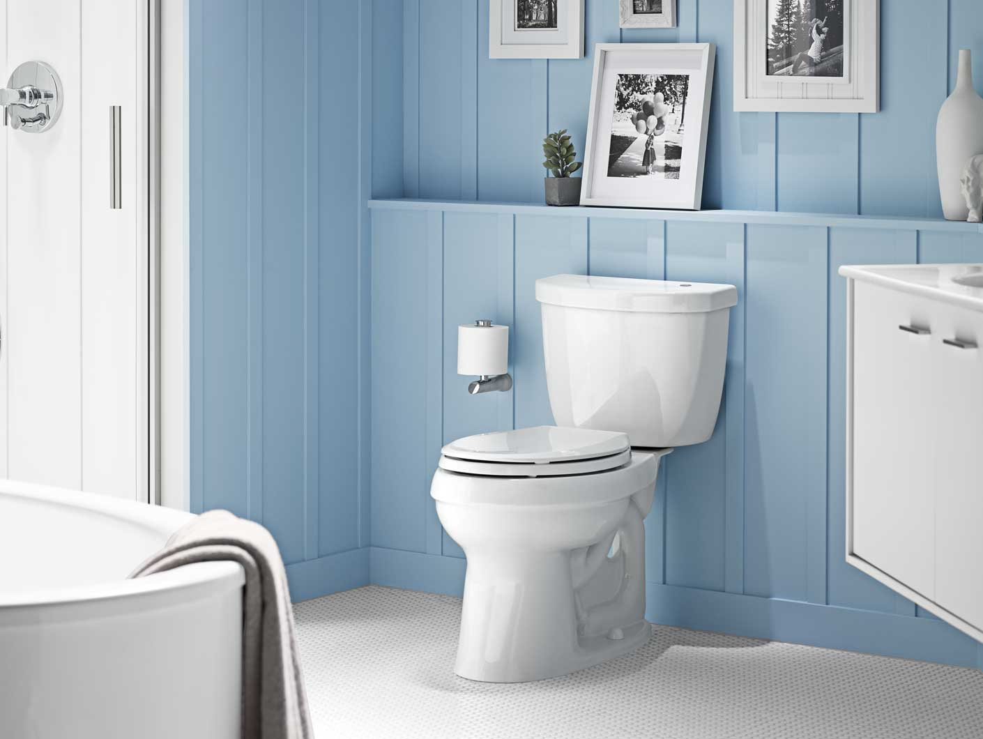 Kohler Introduces A Touchless Toilet Without A Lever