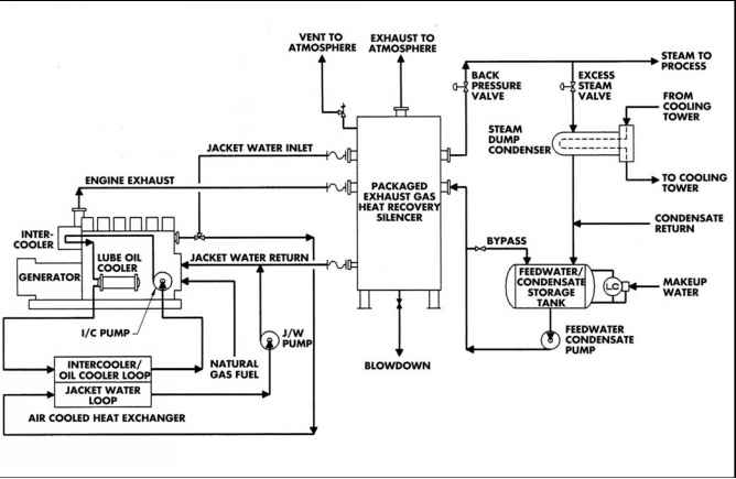 Reciprocating Engine Driven Electric Generation Systems