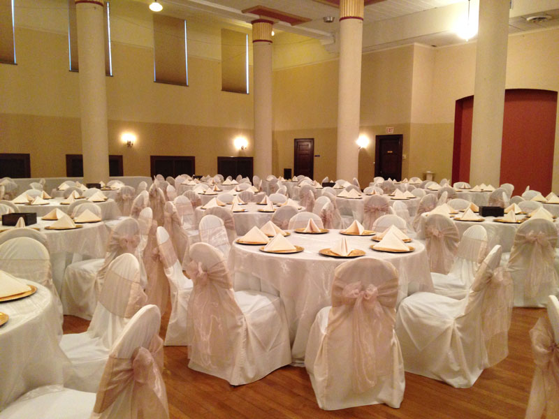 chair covers for folding chairs wedding hickory stool cover rentals | beyond elegance