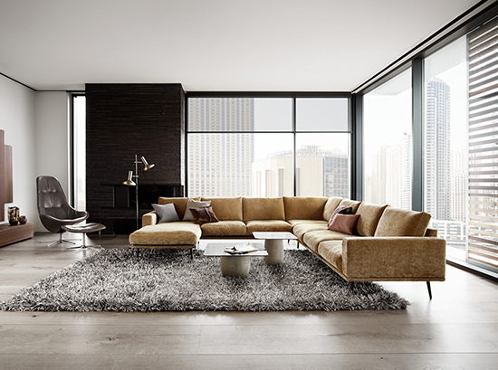 comfortable sofas for family room sofa upholstery bristol carlton corner lounge suite with chaise by boconcept