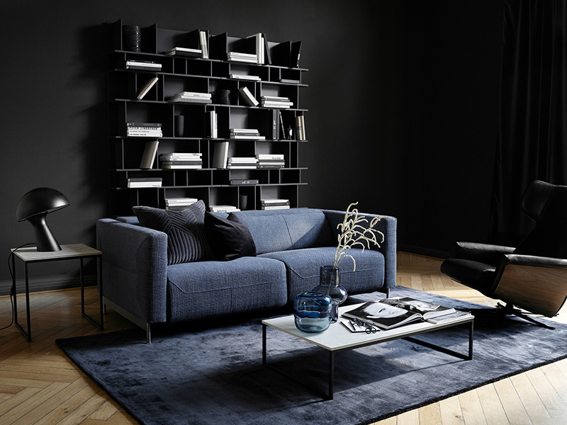 one and half seater sofa sure fit memory foam furniture cover parma motion by boconcept