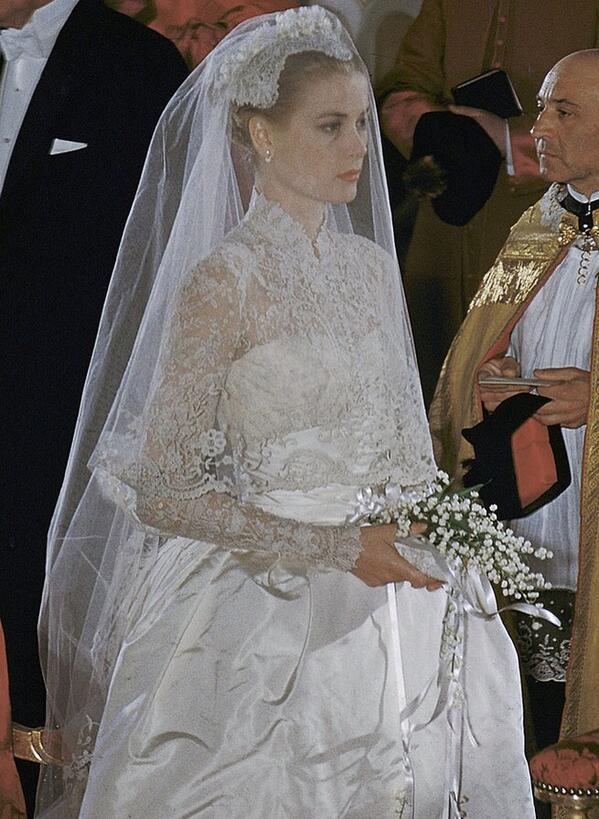 Grace Kelly Brautkleid