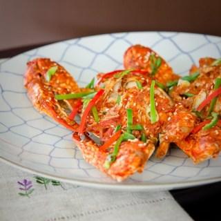 Korean chili crab (Kkotgae Jjim)