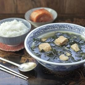 Seaweed Soup with Tuna