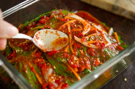 Get the air out of kkatnip kimchi