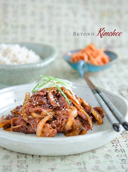 easy spicy Korean pork