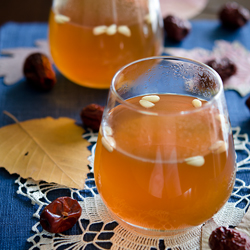 Korean cold remedy drink is a natural way of relieving cold symptoms