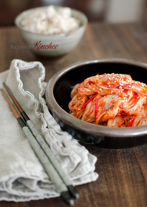 Make kimchi in 30 minutes from start to fnish