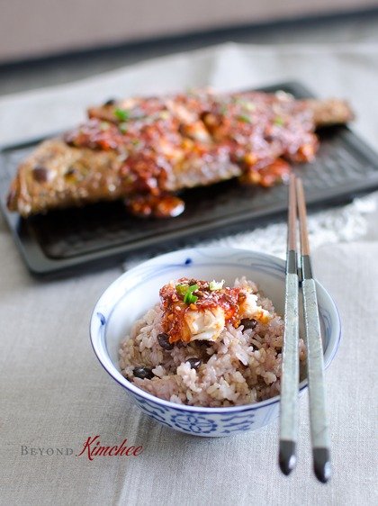 Red Snapper with Korean Chili Sauce