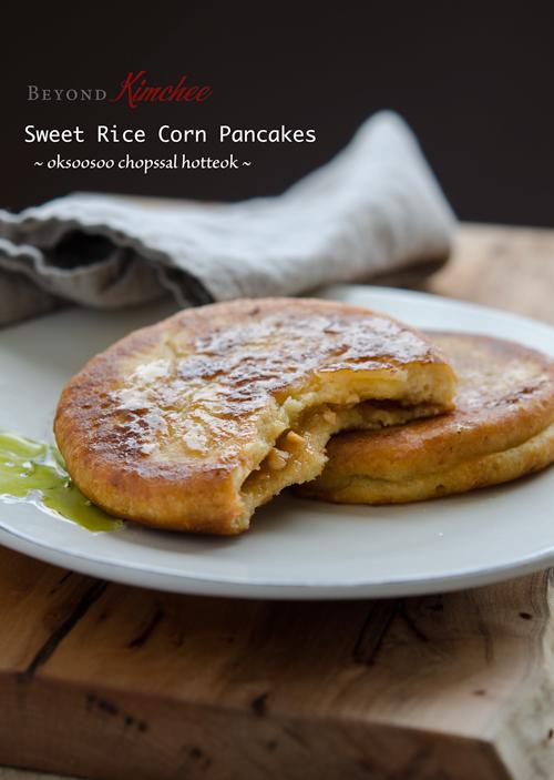 Sweet Rice Corn Hotteok