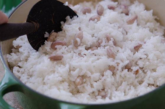 How to cook perfect rice and beans in a pot