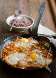 Spicy Tofu and Egg