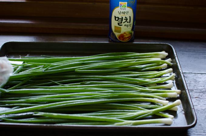 Green Onion Kimchee, 파김치