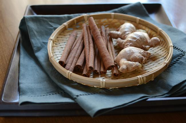 Korean Cinnamon Ginger Punch