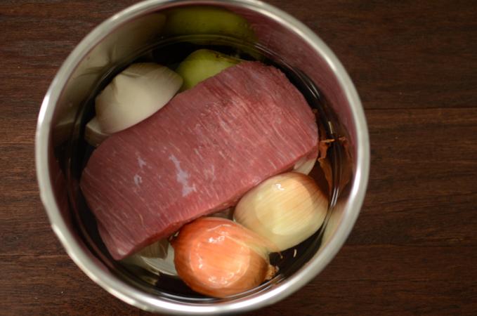 Instant Pot Korean Beef Stew, Yukgaejang