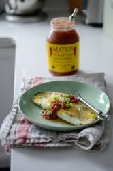 Quick Breakfast Tortilla Egg Roll