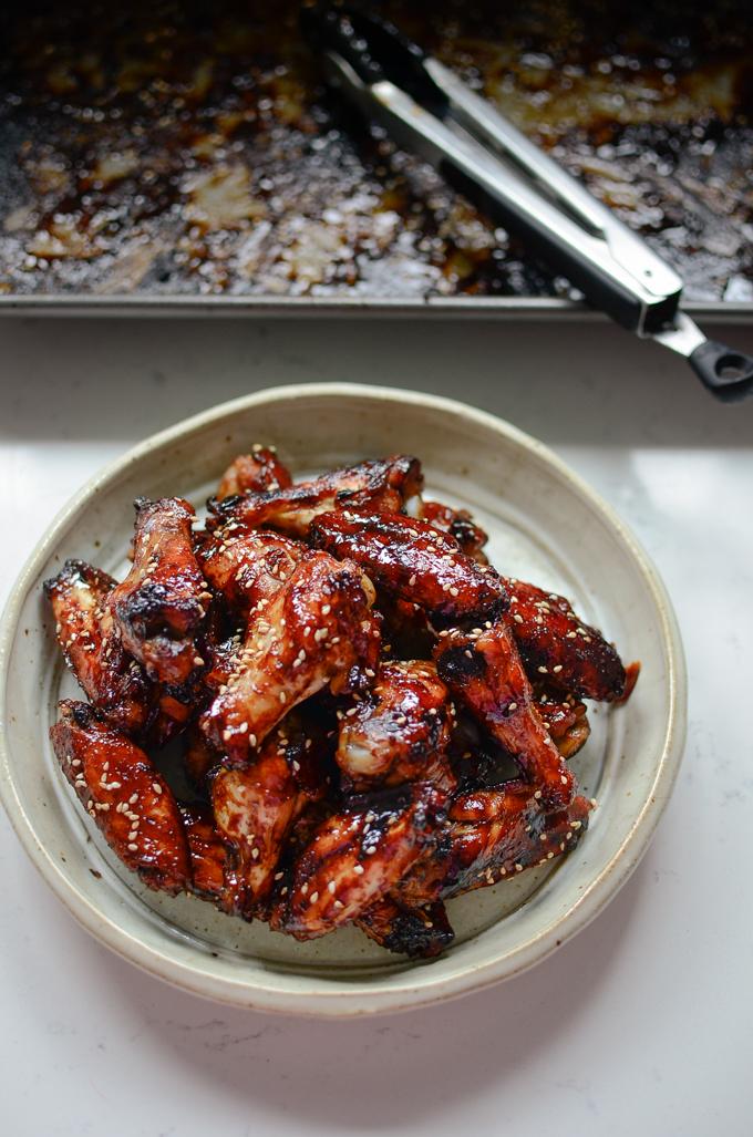 Honey Balsamic Chicken Wings