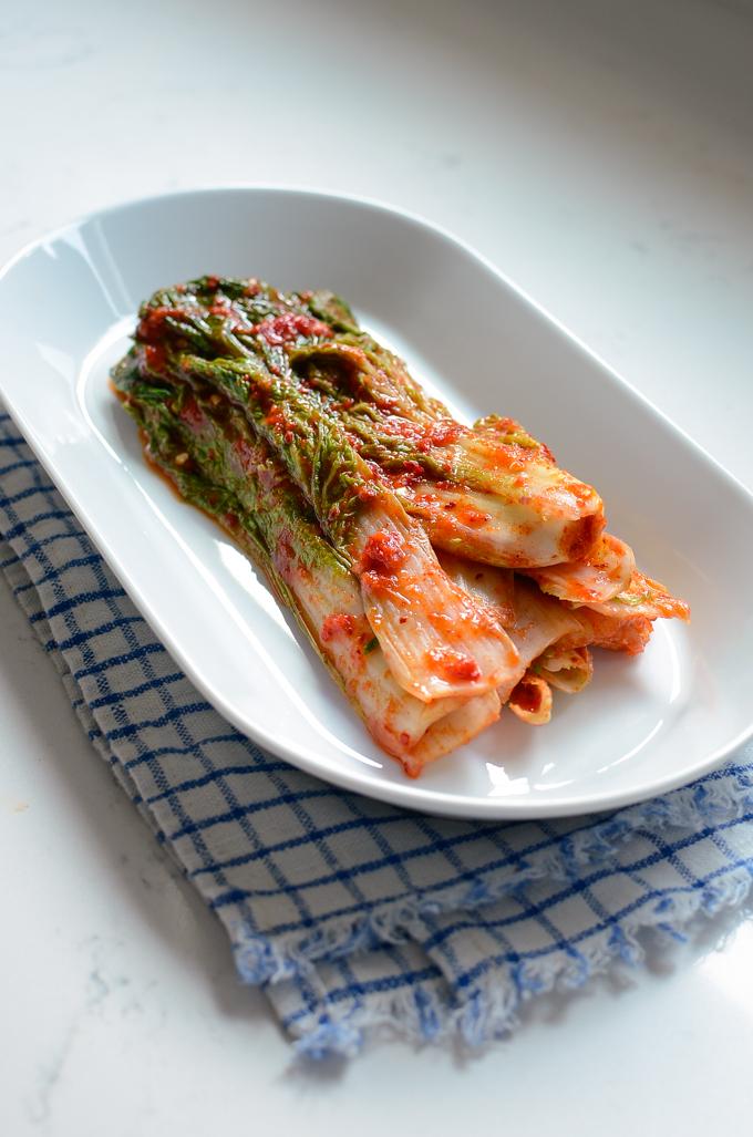 Summer Cabbage Kimchi