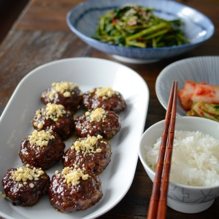 These honey glazed Korean beef patties (Tteokgalbi) is a festive Korean dish for holidays.