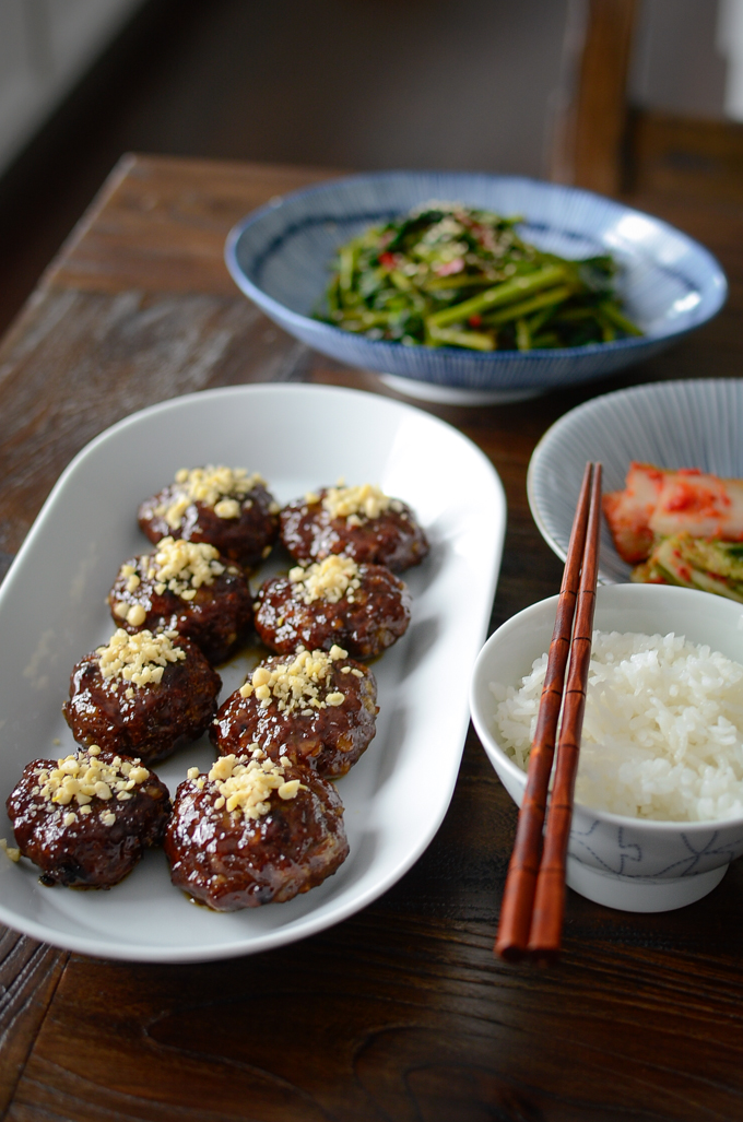 Easy Tteok-galbi (Korean short rib patties)