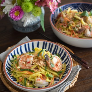 green mango shrimp salad (Gỏi Xoài)