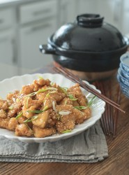 Crispy Chinese Lemon Chicken