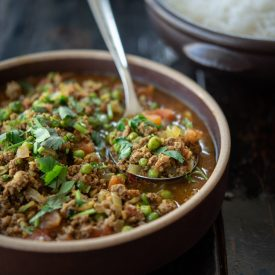 The ground beef curry (beef Keema curry) is easy and quick curry to make
