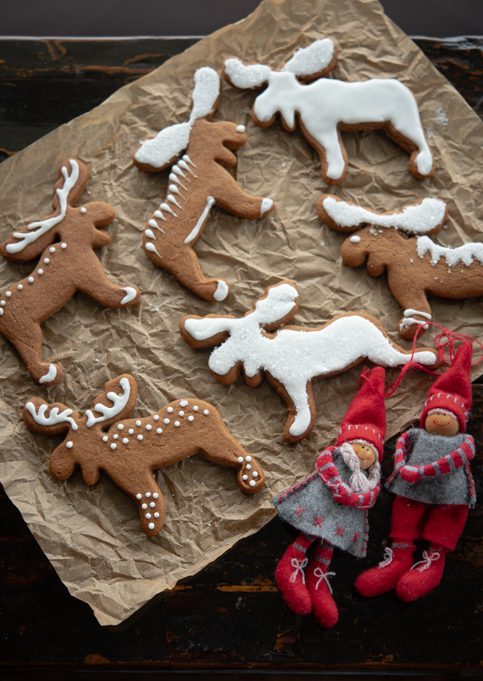 Pepparkakor is a traditional Swedish gingerbread cookies
