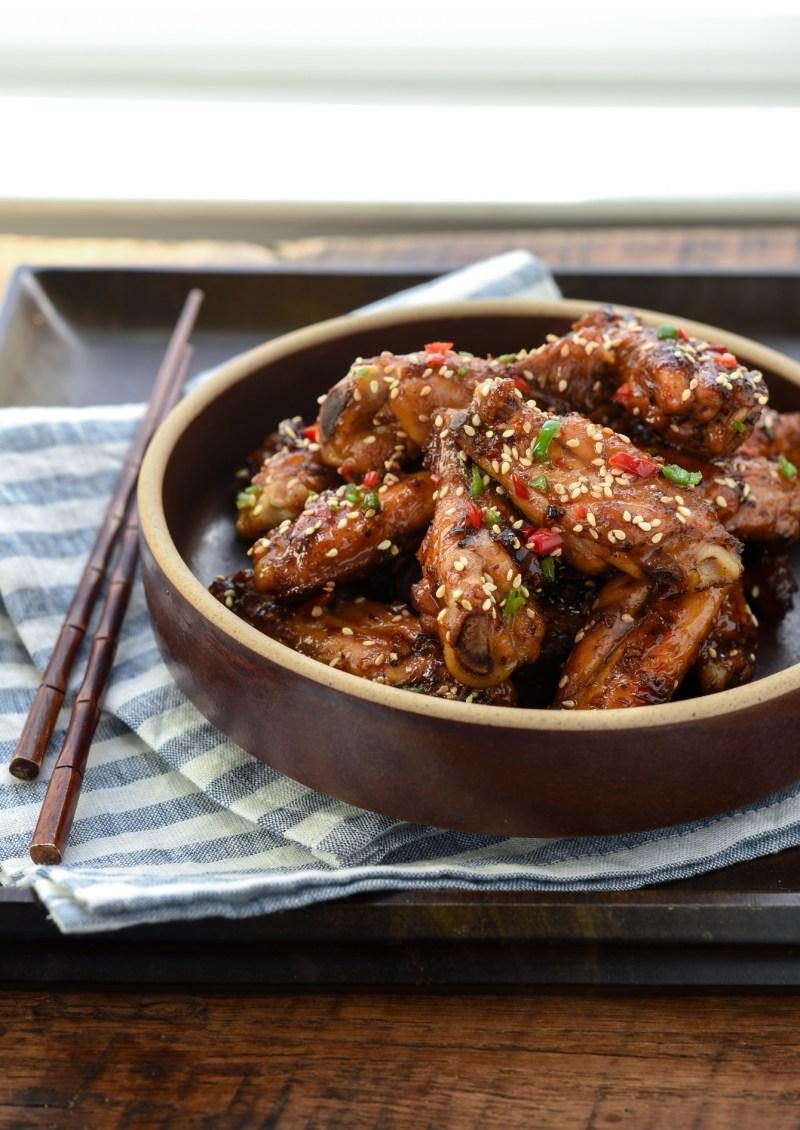 Korean honey garlic chicken is finger-licking delicious