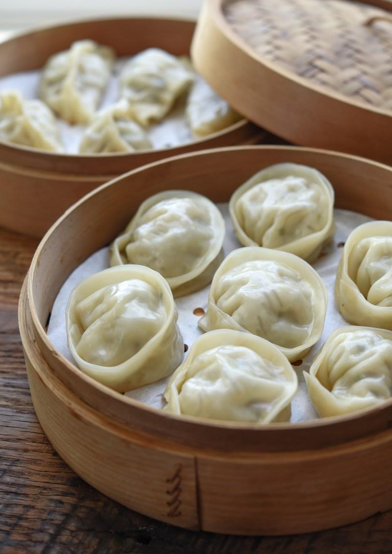 Mandu (Korean dumpling) is a traditional Lunar New year food in Korea