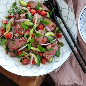 Classic Thai Beef Salad (Yum Nua)
