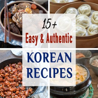 A collection of best Korean recipes
