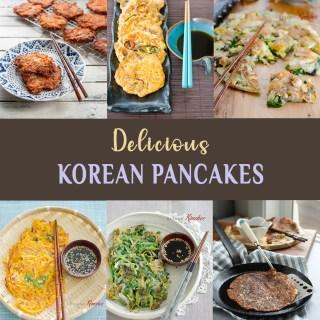 A collection of delicious Korean pancake recipes.