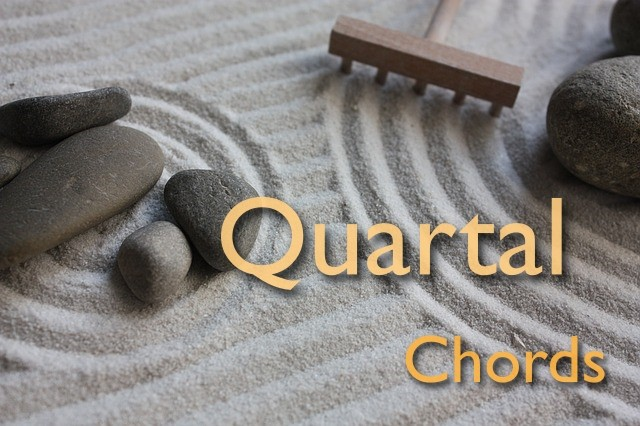 quartal chords - chords by fourths