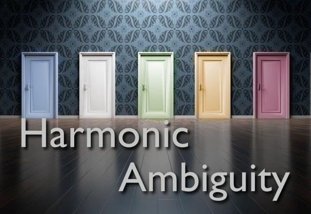 harmonic ambiguity