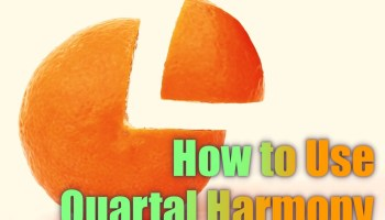 ways of using quartal harmony in your music