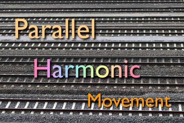 parallel harmonic movement or harmonic planning