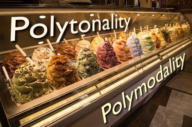 polytonality and polymodality