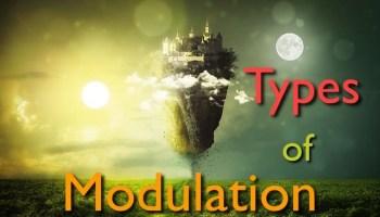 types of modulation