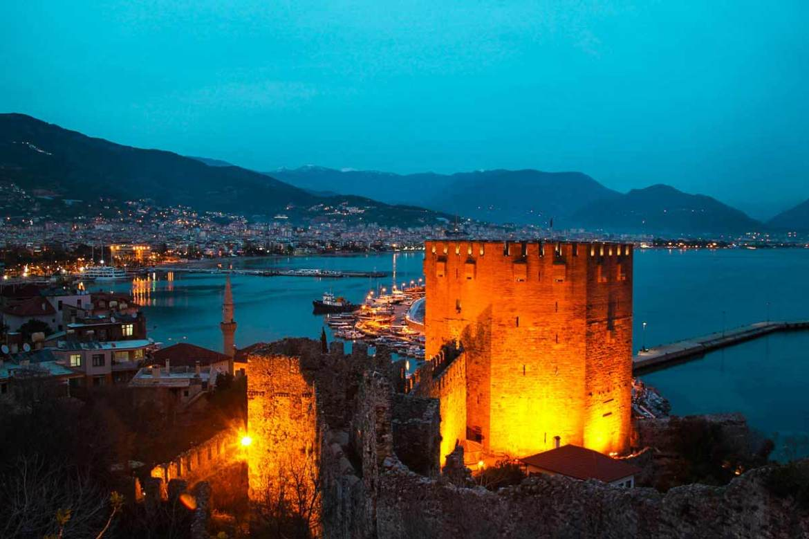 The best places to visit in Turkey-alanya antalya turkey castle