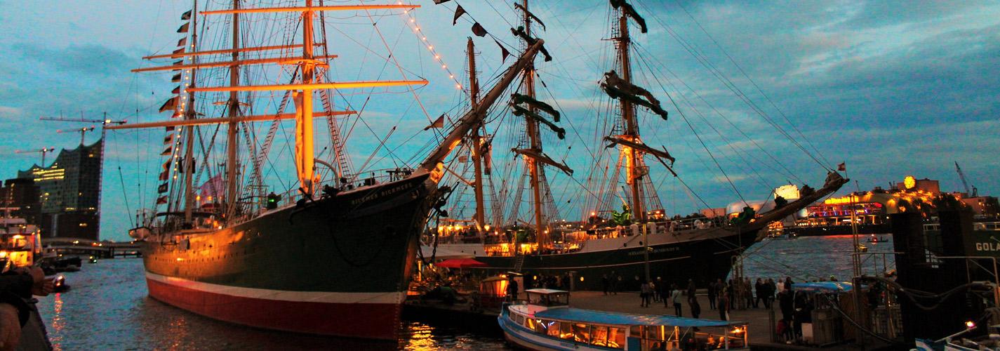 Boat in Hamburg