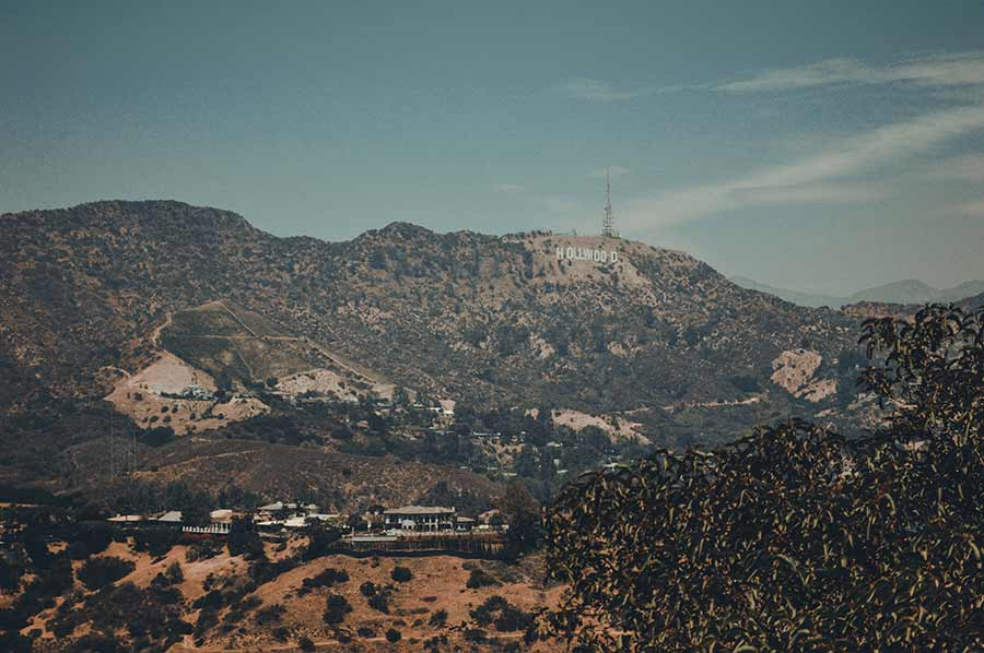 hollywood sign la california