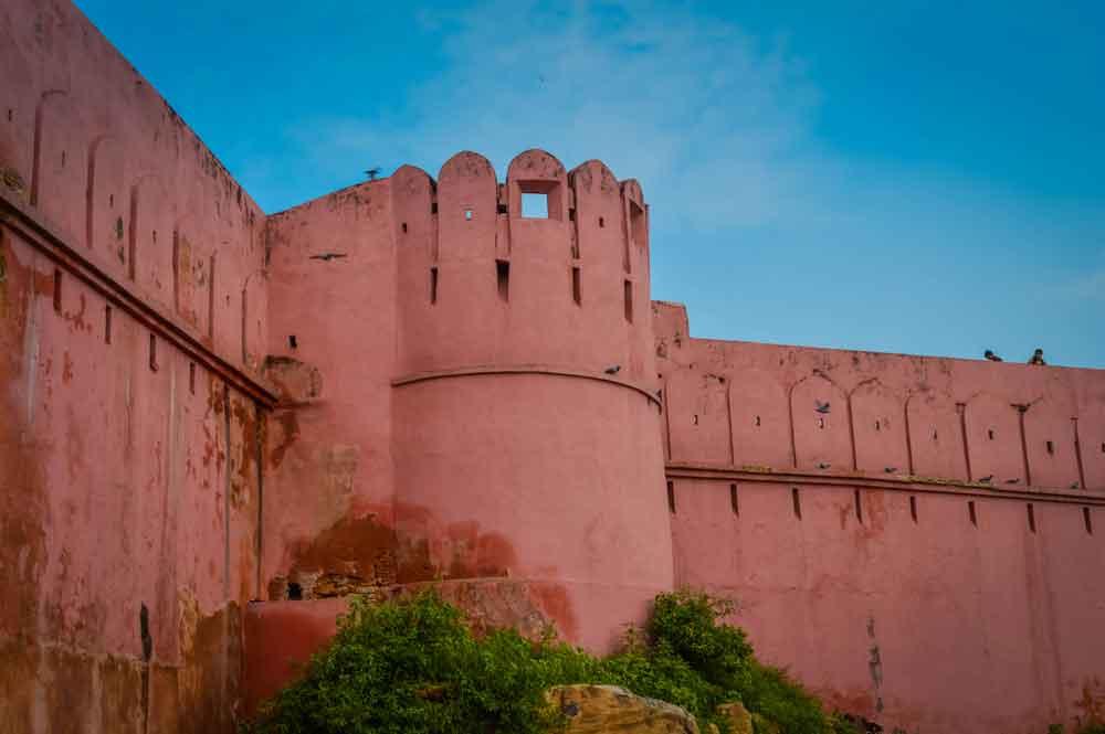 Beautiful Pink Amber Palace