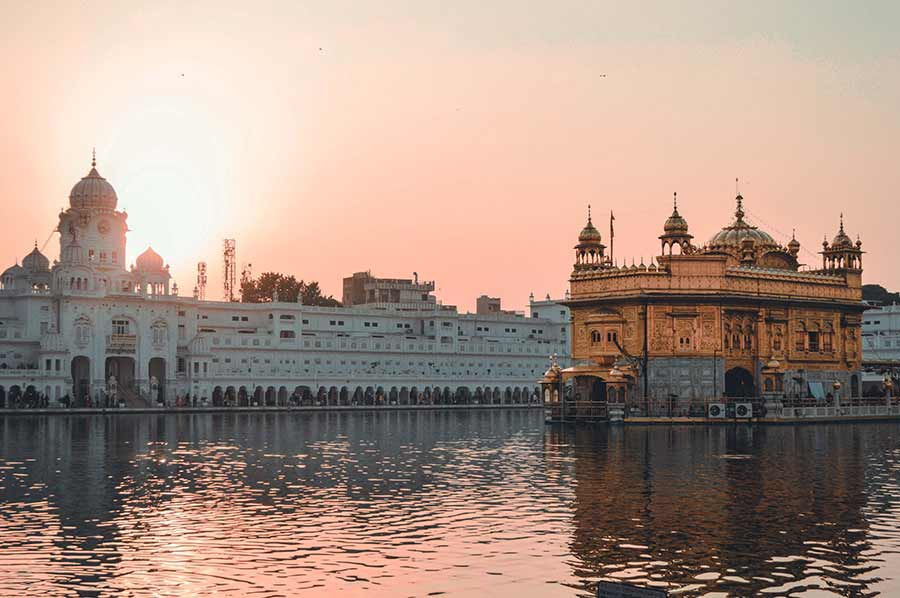 the golden temple amritsar india