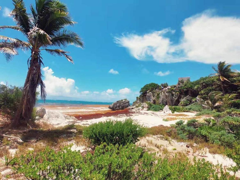 beach in Tulum, Quintana Roo, Yucatan Peninsula