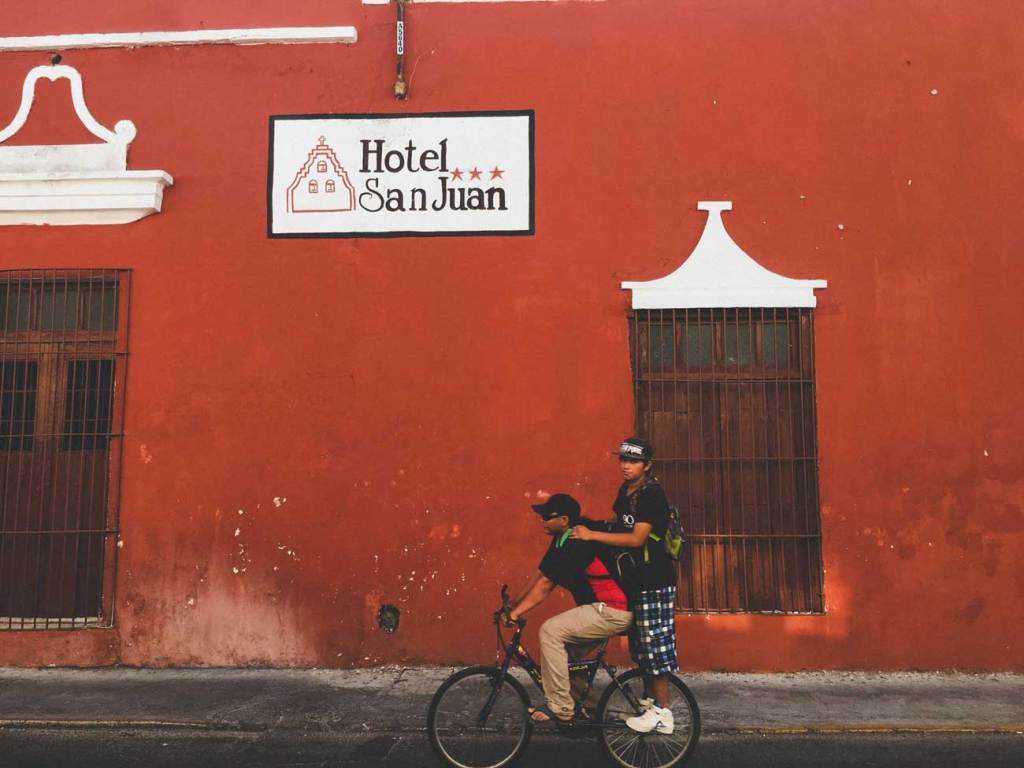 Beautiful Streets in Merida, Mexico, Colorful Roads