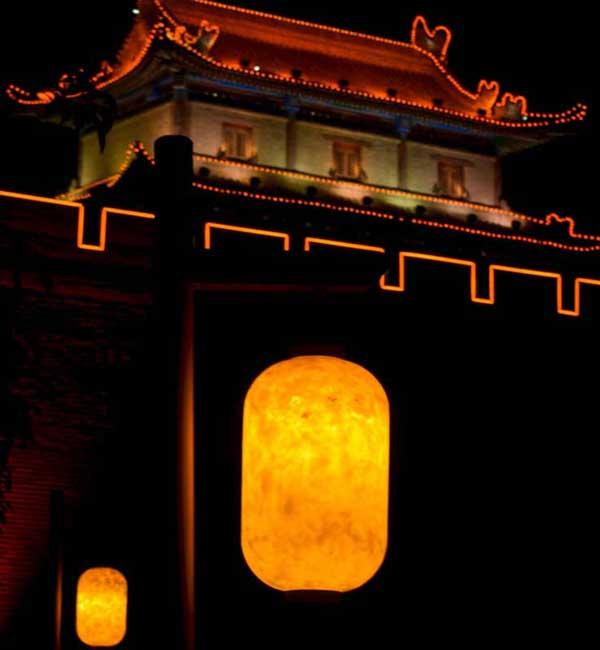 lights-on-chinese-wall-xian-china-lanterns-beautiful-night about chinese new year chinese new year facts