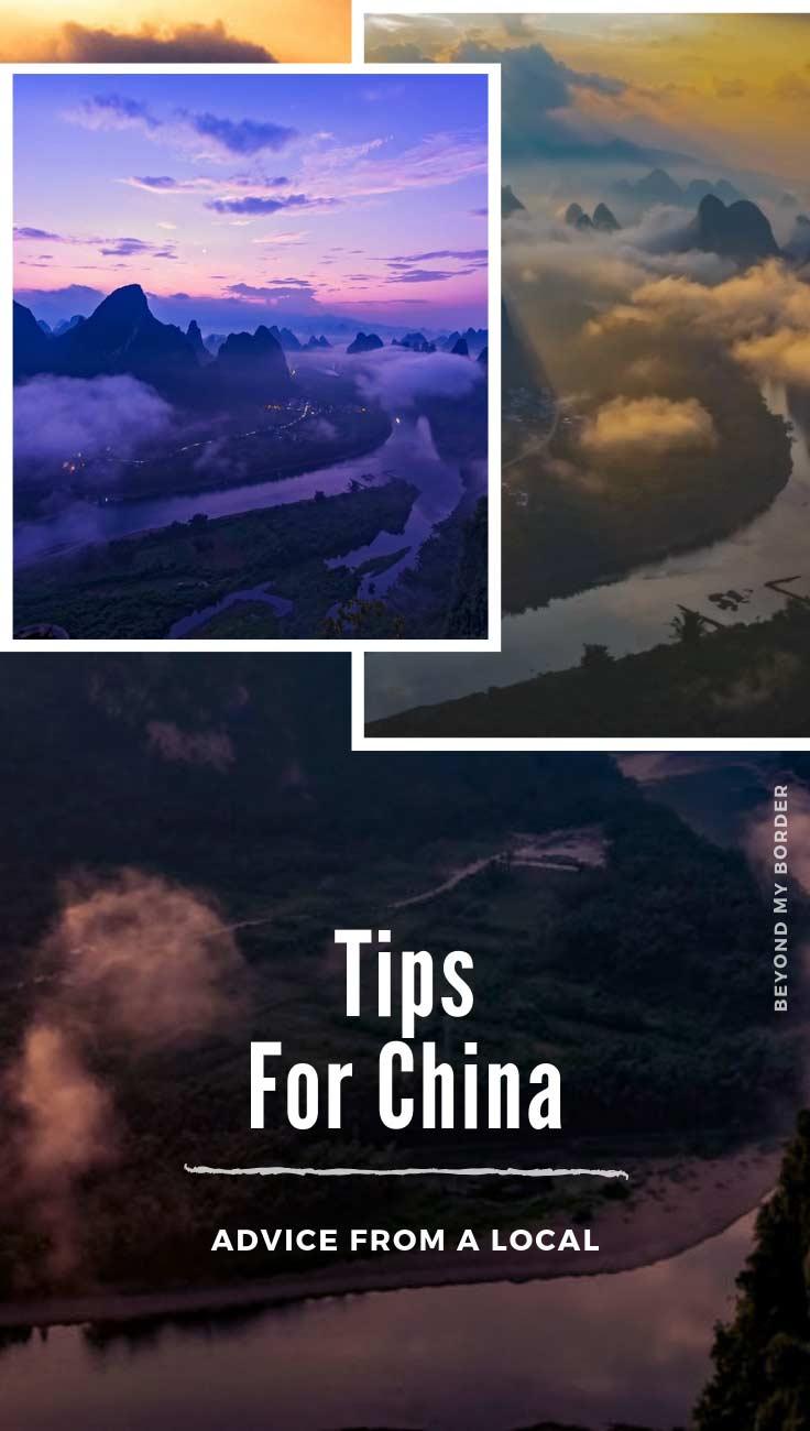 beautiful landscape in China
