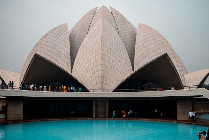 Lotus Temple-2 days in Delhi itinerary
